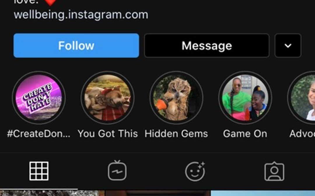 Mise à niveau Instagram pour iOS 13 et ajout de la prise en charge du mode sombre